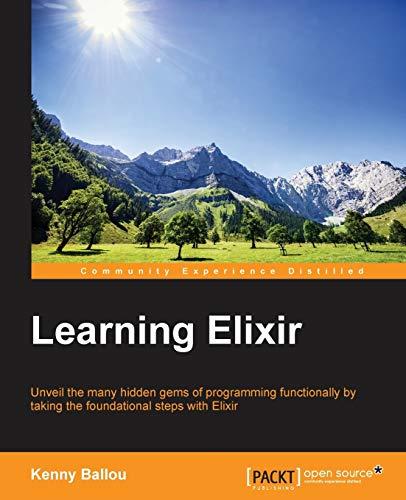 9781785881749: Learning Elixir