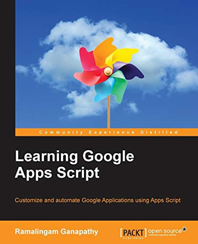 9781785882517: Learning Google Apps Script