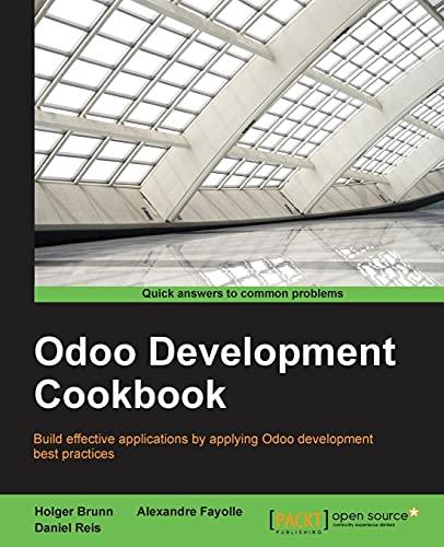 9781785883644: Odoo Development Cookbook