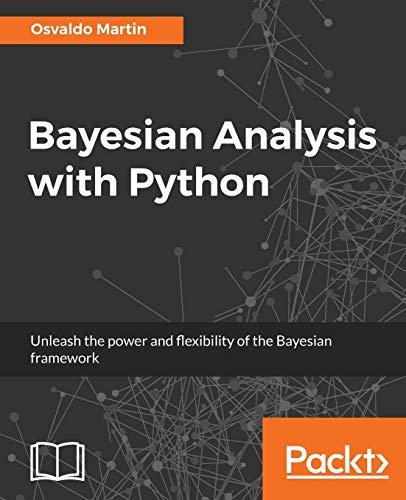 9781785883804: Bayesian Analysis with Python