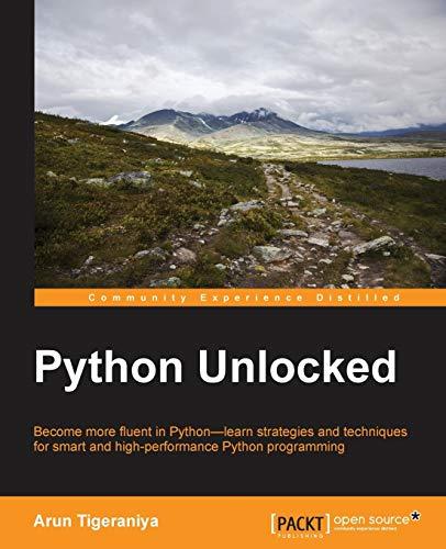 9781785885990: Python Unlocked