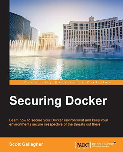 9781785888854: Securing Docker