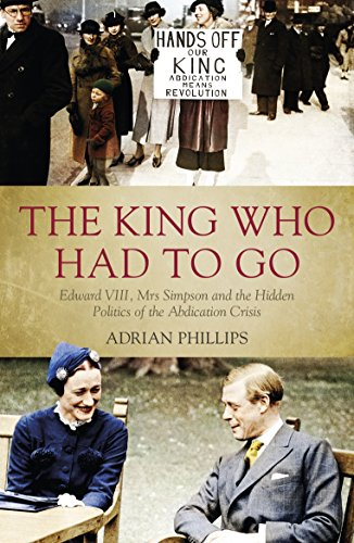 The King Who Had To Go: Edward: Adrian Phillips