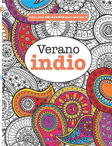 9781785950209: Libros para Colorear Adultos 6: Verano indio (Libros muy RELAJANTES para colorear) (Volume 6) (Spanish Edition)