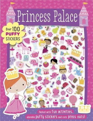 Princess Palace Puffy Sticker Book (Puffy Sticker Activity): Make Believe Ideas