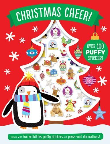 9781785984594: Christmas Cheer Puffy Sticker Book (Activity Books)