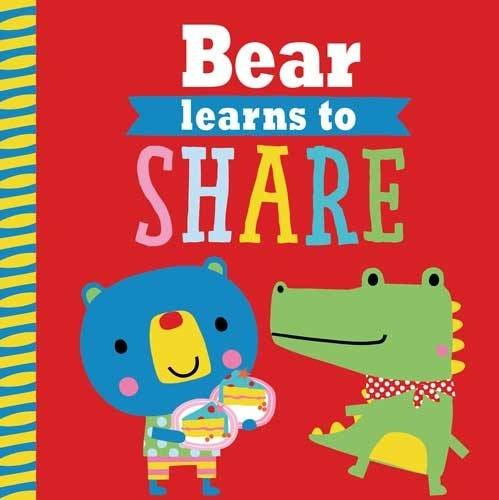 Playdate Pals: Bear Learns to Share (Paperback): Rosie Greening