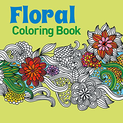 9781785990076: Floral Coloring Book