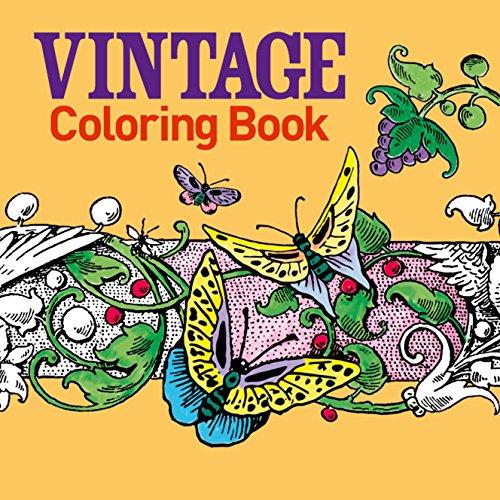 Vintage Coloring Book: Arcturus Publishing Ltd