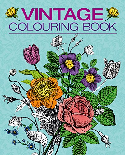 Vintage Colouring Book (Colouring Books): Arcturus Publishing