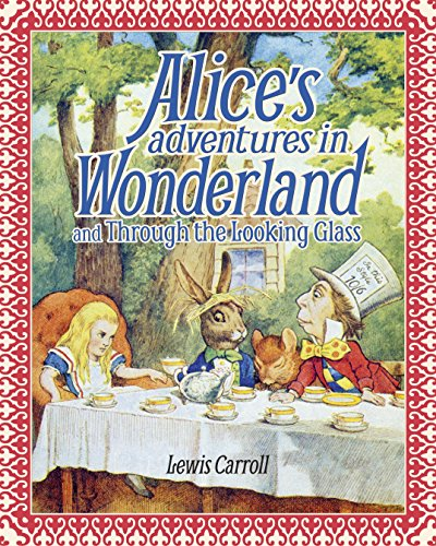 9781785994241: Alice's Adventures in Wonderland and Through the Looking Glass: Slip-Case Edition