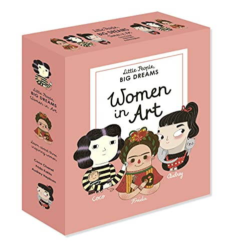 9781786034281: Little People, BIG DREAMS: Women in Art: 3 books from the best-selling series! Coco Chanel - Frida Kahlo - Audrey Hepburn