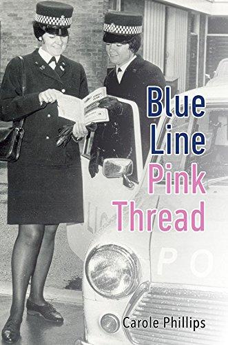 9781786126429: Blue Line- Pink Thread