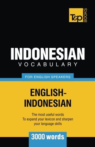 9781786164834: Indonesian Vocabulary for English Speakers - 3000 Words