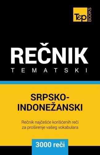 Srpsko-Indonezanski Tematski Recnik - 3000 Korisnih Reci: Taranov, Andrey