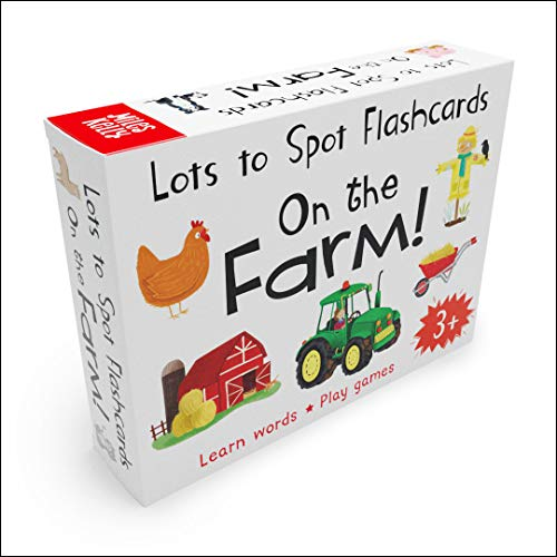 9781786178077: Lots to Spot Flashcards: On the Farm!