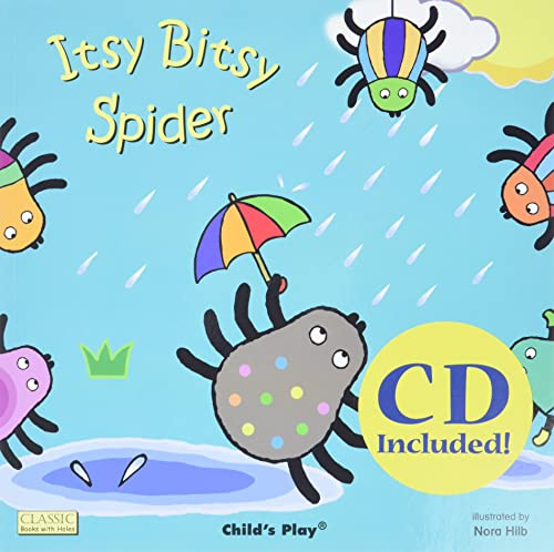 9781786280794: Itsy Bitsy Spider (Classic Books with Holes 8x8 with CD)