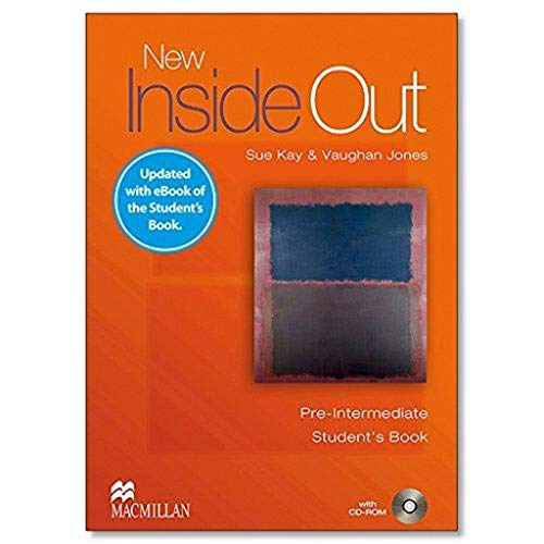 9781786327345: NEW INSIDE OUT Pre-Int Sb (eBook) Pk