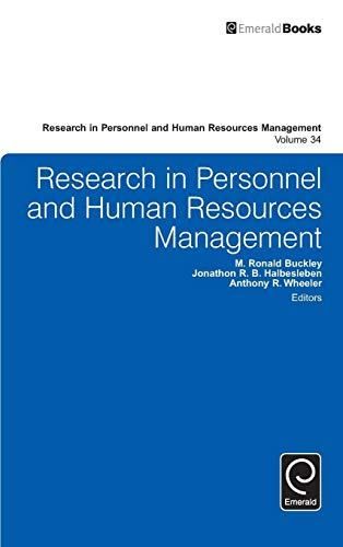 Research In Personnel & Human Resources