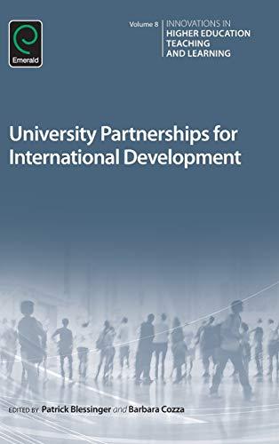 9781786353023: University Partnerships for International Development (Innovations in Higher Education Teaching and Learning)