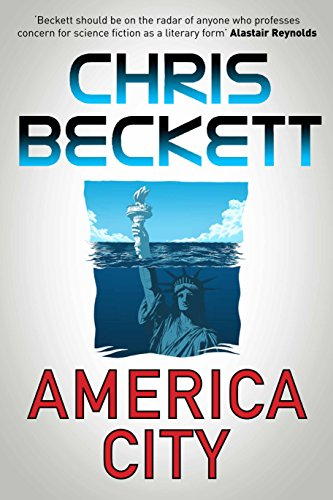 AMERICA CITY - SIGNED & PRE-PUBLICATION DATED FIRST EDITION FIRST PRINTING: BECKETT Chris