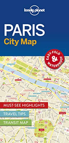 Lonely Planet Paris City Map (Travel Guide): Lonely Planet