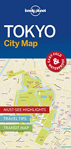 9781786577832: Lonely Planet Tokyo City Map (Lonely Planet City Maps)