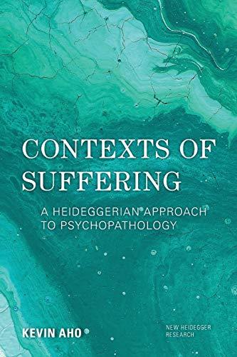 9781786611888: Contexts of Suffering (New Heidegger Research)