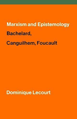 9781786632401: Marxism and Epistemology