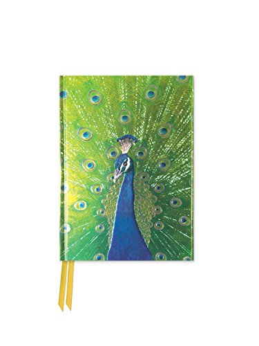 9781786640666: Peacock in Blue and Green (Foiled Pocket Journal) (Flame Tree Pocket Books)