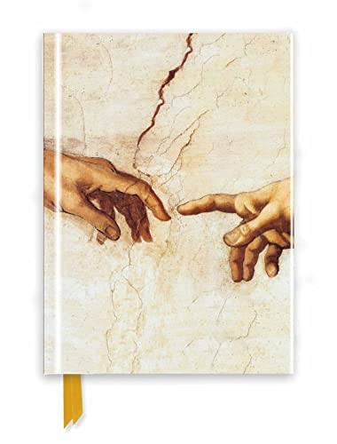 9781786641144: Michelangelo: Creation Hands (Foiled Journal) (Flame Tree Notebooks)