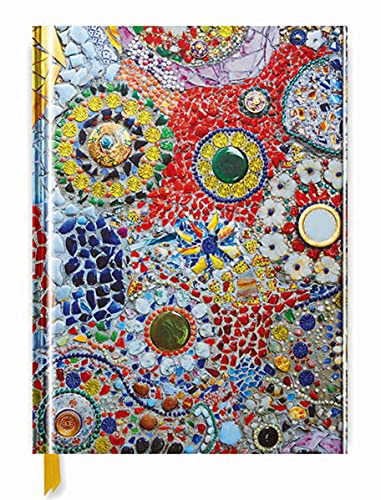 Gaudi (inspired by) Mosaic (Blank Sketch Book) (Luxury Sketch Books): Flame Tree Publishing