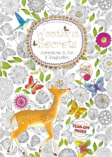 9781786641724: Woodland Secrets: Adventures in Ink and Imagination (Colouring Paperback)