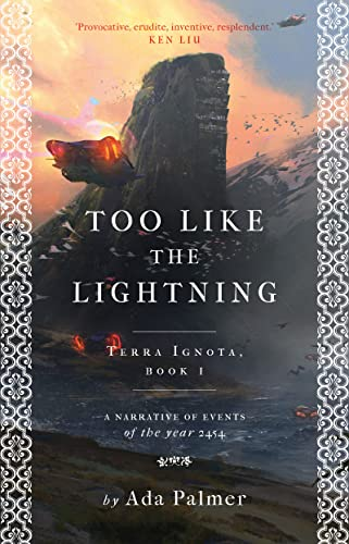 9781786699480: Too Like the Lightning (Terra Ignota)