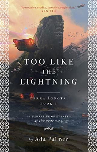9781786699480: Too Like the Lightning (Terra Ignota)