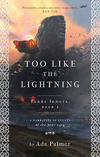 9781786699497: Too Like the Lightning (Terra Ignota)