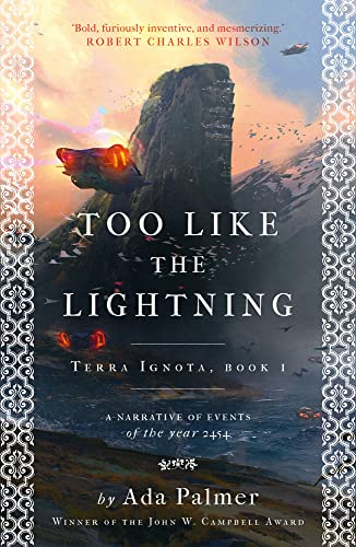 9781786699503: Too Like the Lightning (Terra Ignota)