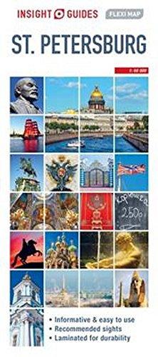 9781786718853: Insight Flexi Map: St Petersburg