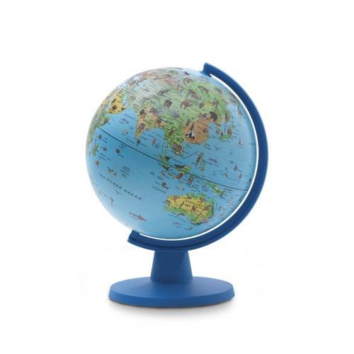 9781786719546: Insight Guides Globe Blue Animal (Insight Globes)