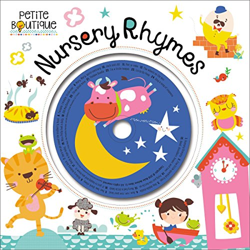 Petite Boutique Nursery Rhymes 9781786921192 Introducing Nursery Rhymes, a beautiful collection of 24 beloved nursery rhymes with pictures by French illustrator Véronique Petit. A f