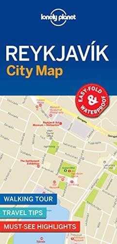 9781787014466: Lonely Planet Reykjavik City Map