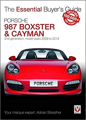 Porsche 987 Boxster & Cayman: 2nd generation - Model years ...