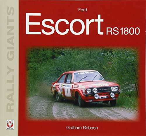 9781787111097: Ford Escort RS1800 (Rally Giants)