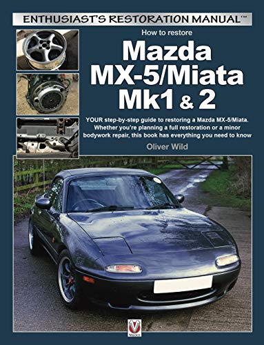 9781787113046: Mazda MX-5/Miata Mk1 & 2: Enthusiasts Restoration Manual