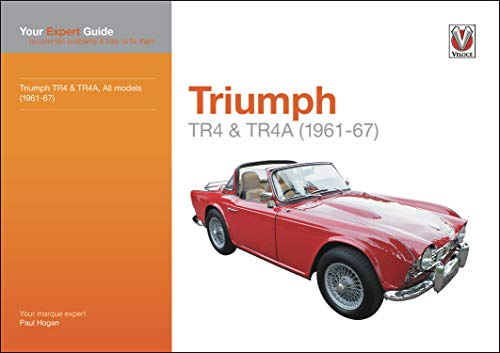 9781787115644: Triumph TR4 & TR4A: Your expert guide to common problems and how to fix them (Expert Guides): All Models (1961-67): Your Expert Guide to Common Problems and How to Fix Them