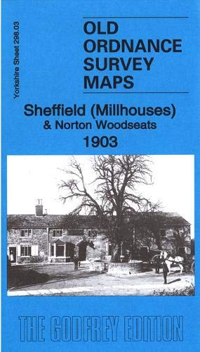 OLD ORDNANCE SURVEY MAP ATTERCLIFFE 1903 BRIGHTSIDE CARBROOK GREENLAND SHEFFIELD