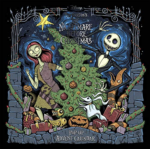 9781787419049: Disney Tim Burton's The Nightmare Before Christmas Pop-Up Book and Advent Calendar