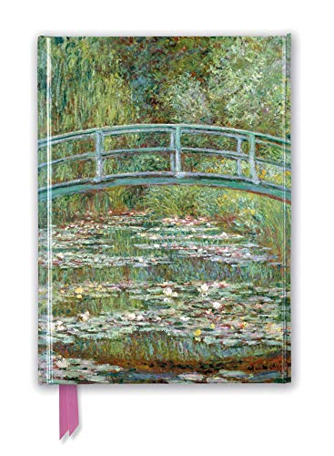 9781787550322: Claude Monet: Bridge over a Pond of Water Lilies (Foiled Journal) (Flame Tree Notebooks)