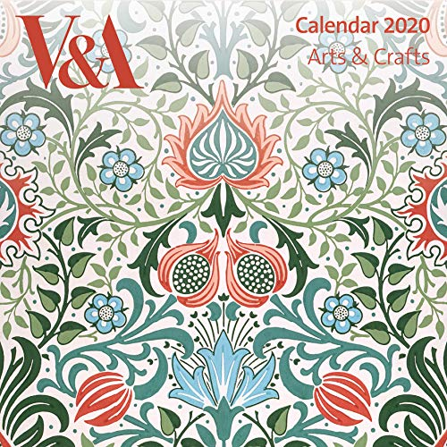 9781787554894: V&A Arts & Crafts - Mini Wall Calendar 2020 (Art Calendar)