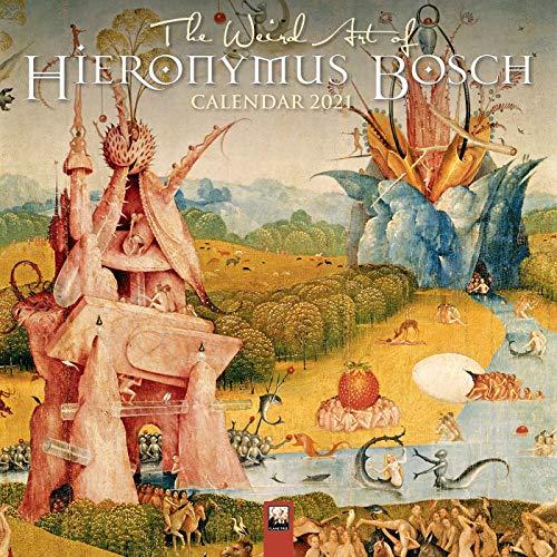 9781787559493: The Weird Art of Hieronymus Bosch 2021 Calendar